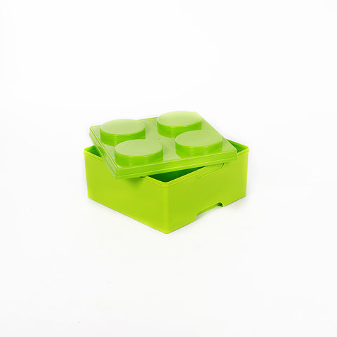 Storeasy Junior Building Block Stackable Storage Box 14Ltr Green