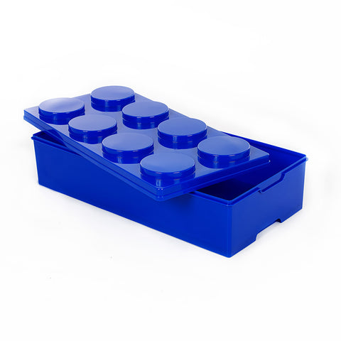 Storeasy Junior Building Block Stackable Storage Box 28Ltr Blue