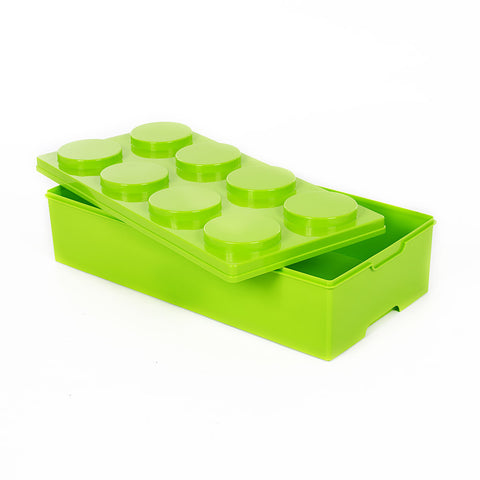 Storeasy Junior Building Block Stackable Storage Box 28Ltr Green