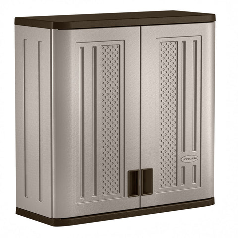 Suncast 4ft Wall Cabinet Grey