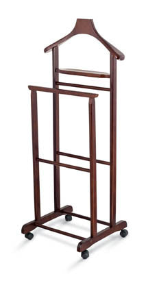 Valet stand - Cherry