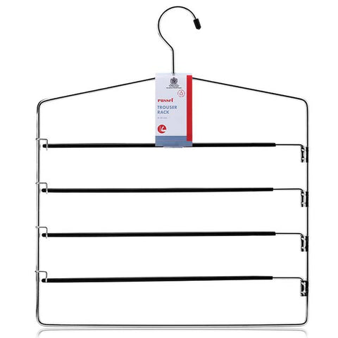 Trouser Hanger with 4 Non-Slip Swing Bars