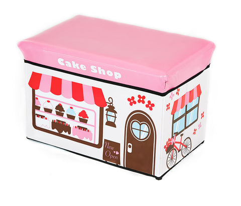 Storeasy Junior Storage Ottoman - Cake Shop Design