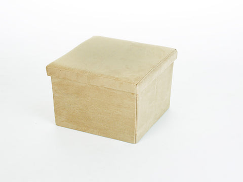 Storeasy Doe Micro Suede Single Seat Ottoman