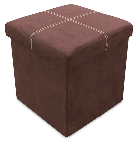 Storeasy Earth Micro Suede Single Seat Ottoman