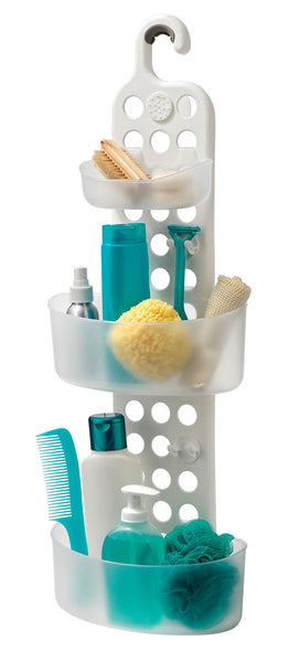 Adjustable organizer for shower