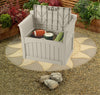 Suncast - 117 Litre Patio Bench