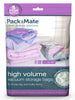 Packmate - 2pc Jumbo High Volume Vacuum Bag Set