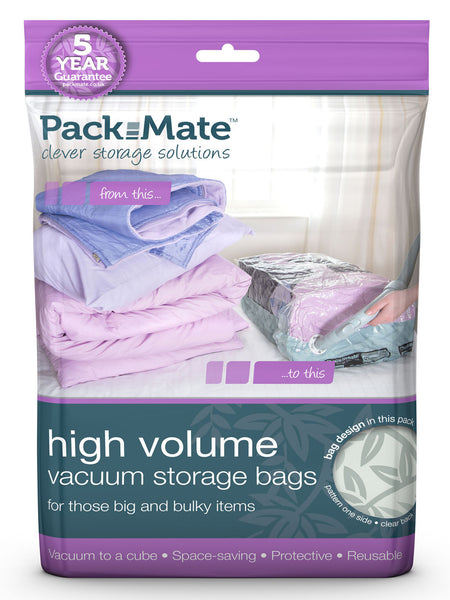 Packmate - 2pc Extra Large High Volume Vacuum Bag Set