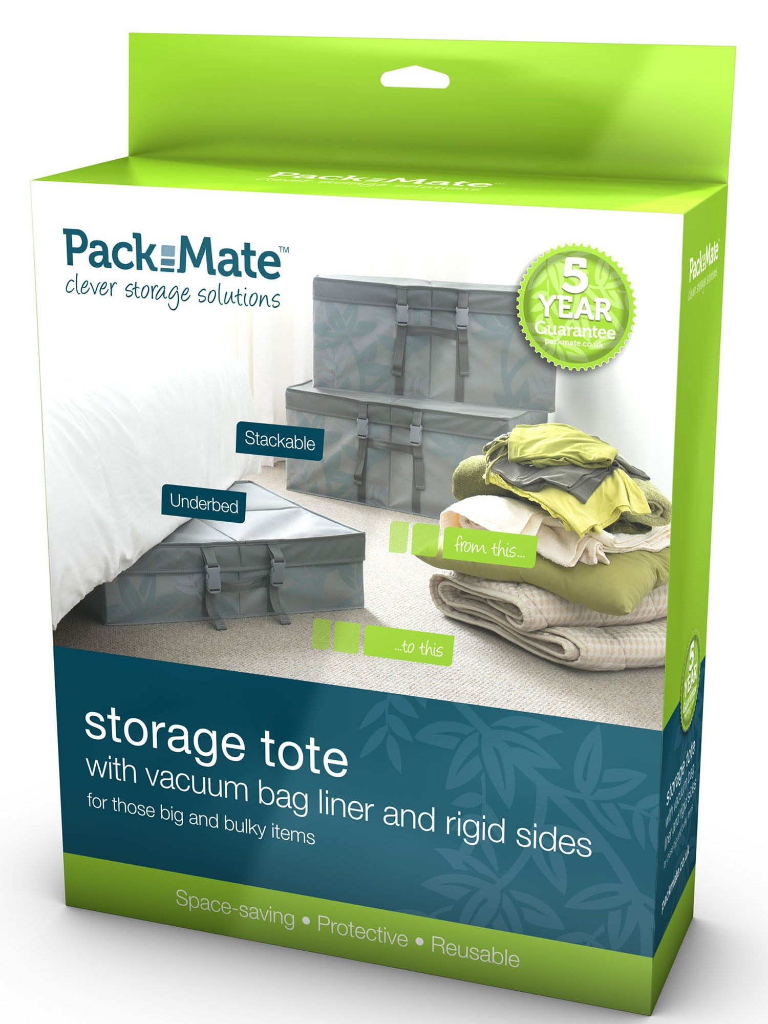 Packmate - Jumbo Stackable Rigid Tote  sc 1 st  Home Storage Direct. & Jumbo Stackable Rigid Tote | Packmate | Home Storage Direct