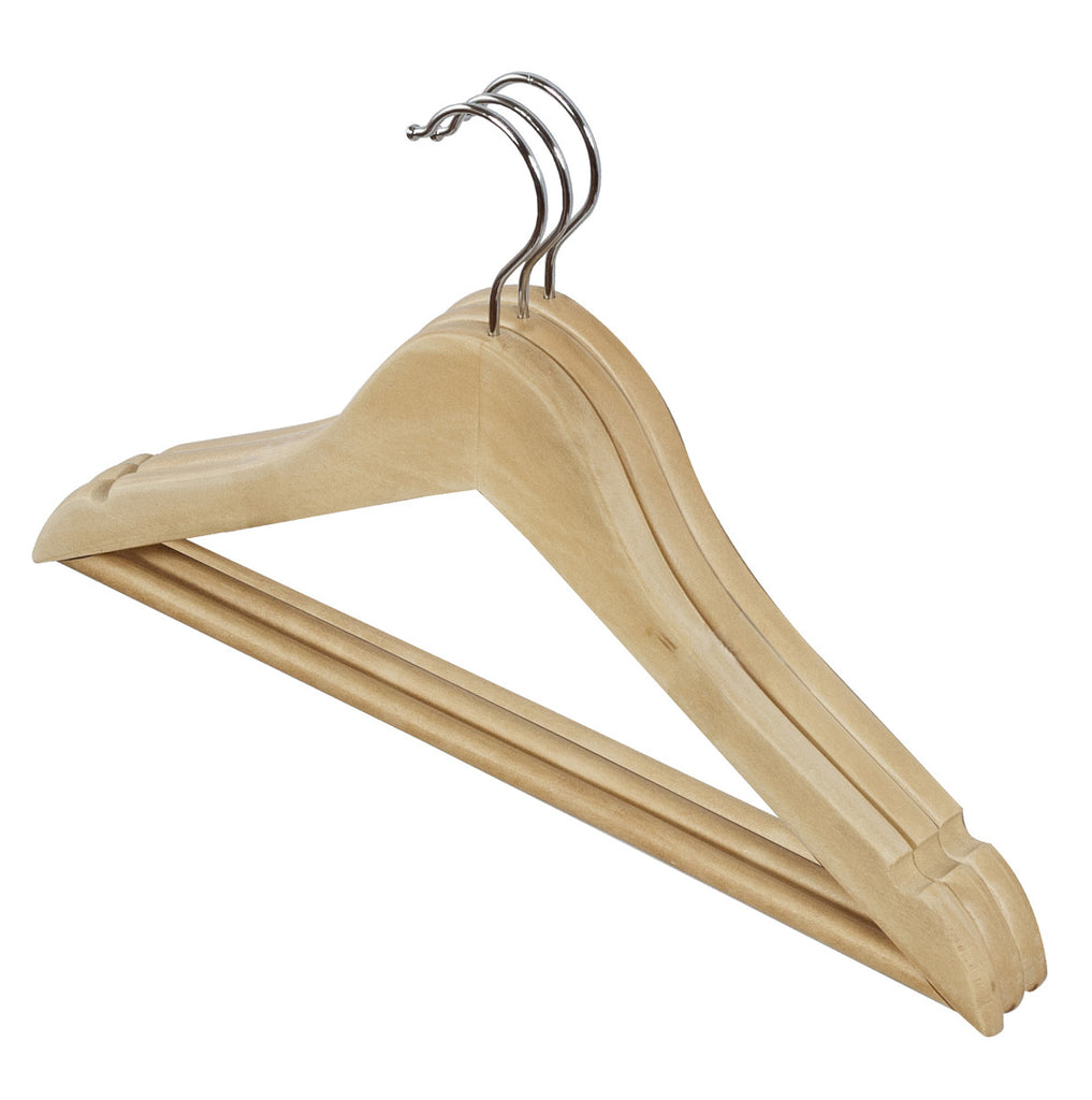 3pc Children's Premium Beech Wooden Hangers