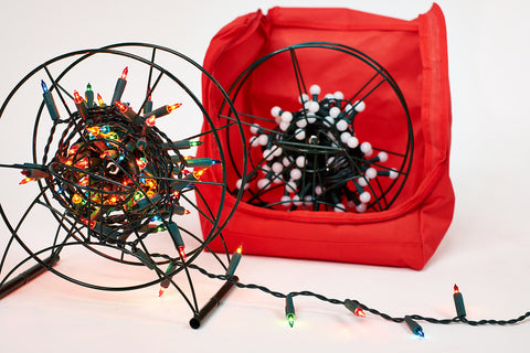 Storeasy - Christmas Light Storage Set