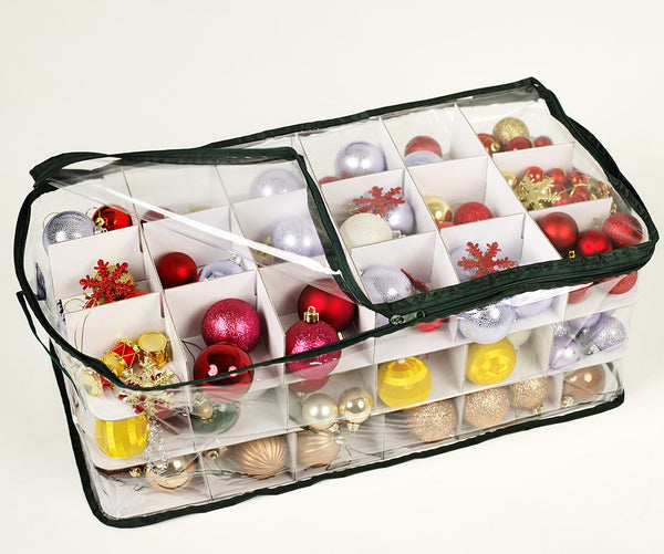Storeasy - Christmas Ornament Box (54 Compartment)