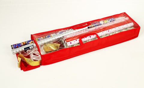 Storeasy - Christmas Deluxe Wrapping Storage Case