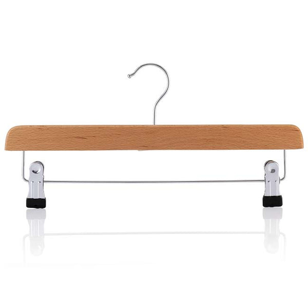Beech Adjustable Clip Bar Hanger with Silver Hook