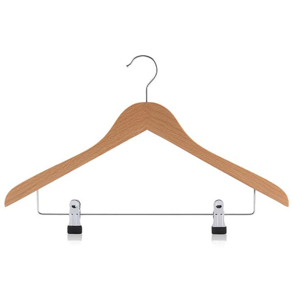 Beech Shaped Combination Adjustable Clip Bar Hanger with Silver hook