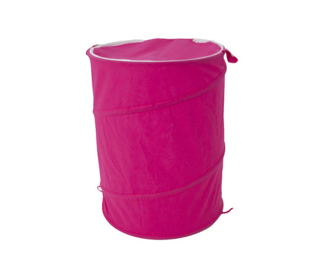 Pop-up Laundry Hamper (Pink)