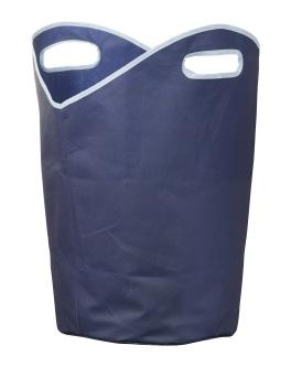 Laundry Hamper with Integral Carry Handles