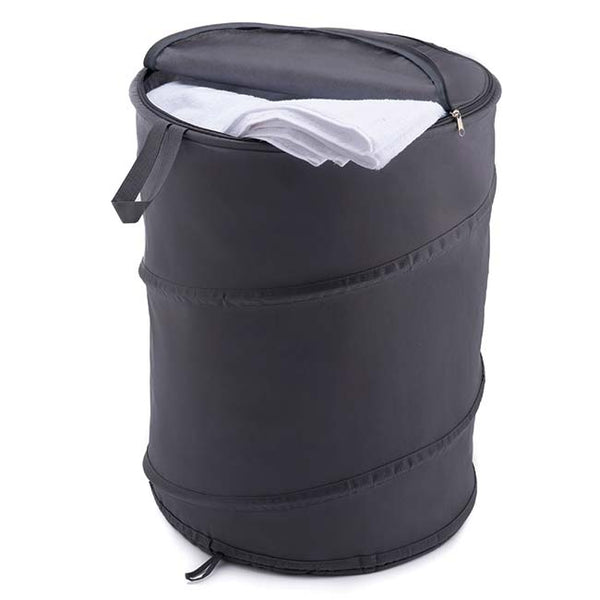 Pop up Laundry Hamper in Grey Non Woven
