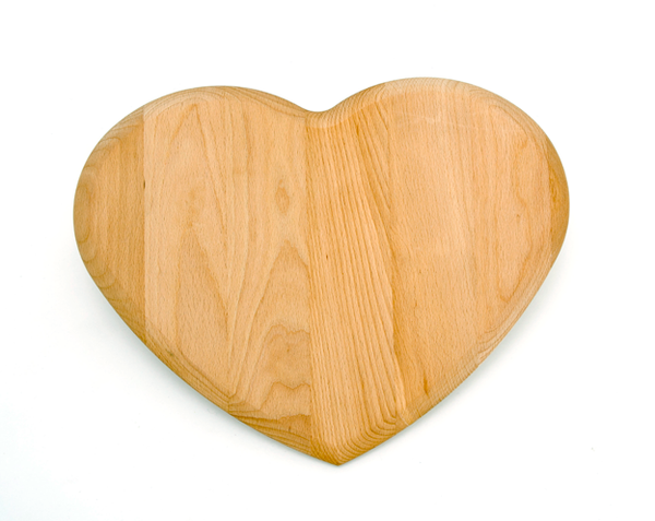 Heart Shaped FSC Chopping Board