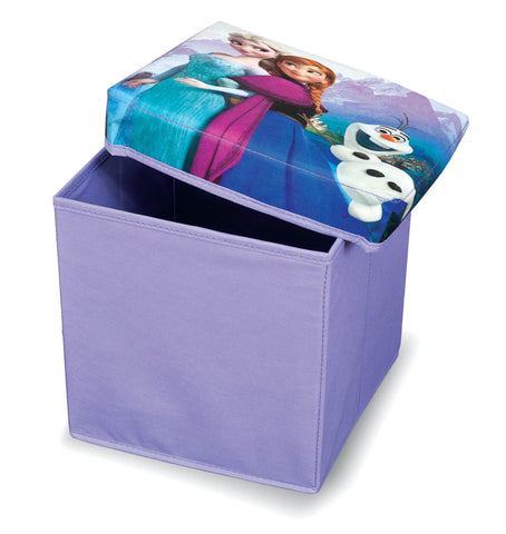 Small Disney Ottomans Frozen Storage Box