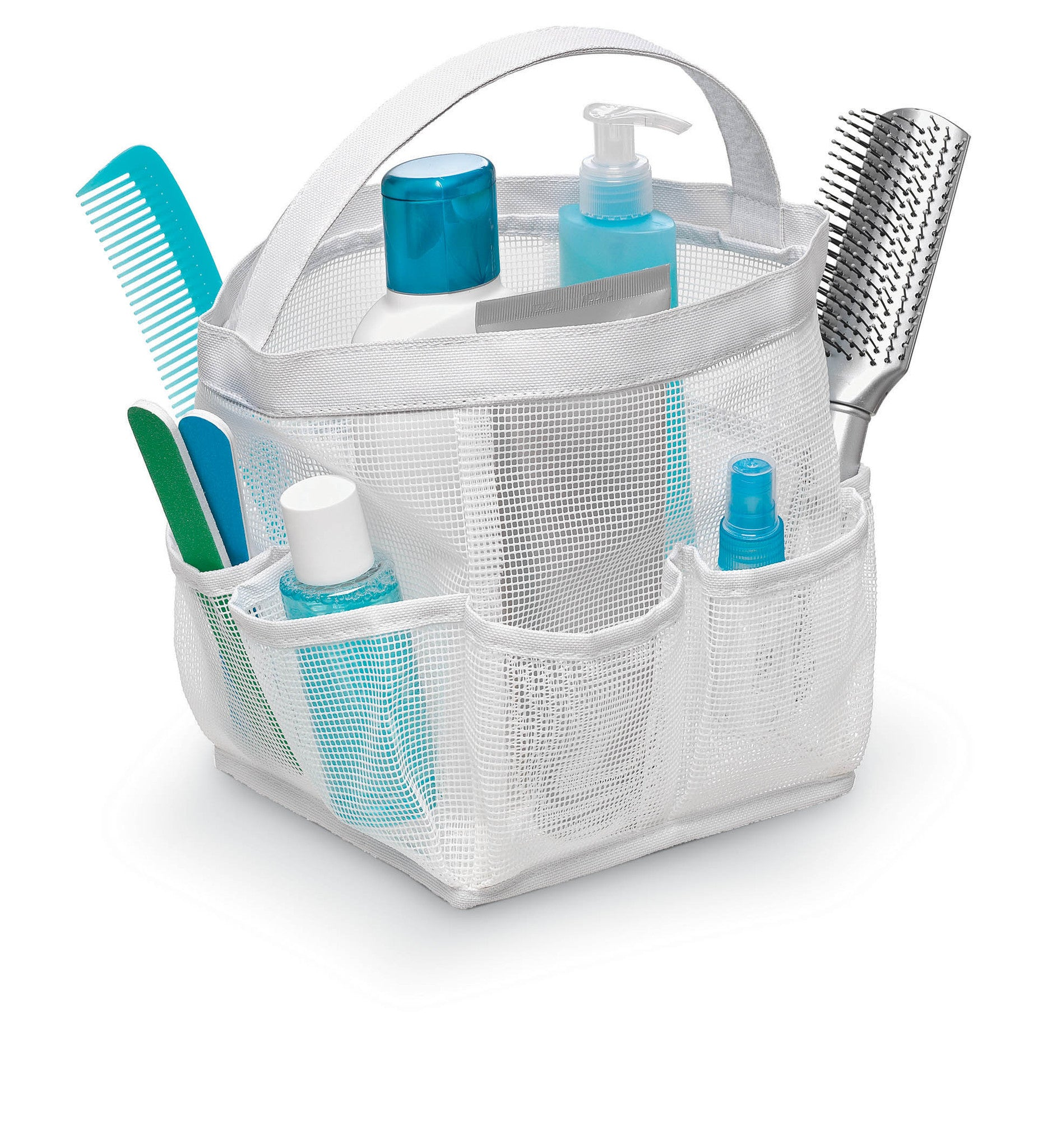 Mesh organizer Caddy - White – Home Storage Direct