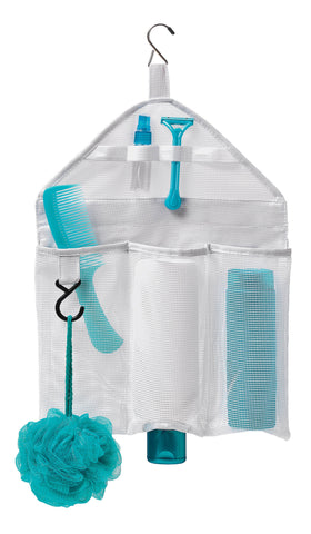 Mesh organizer Multipocket - White