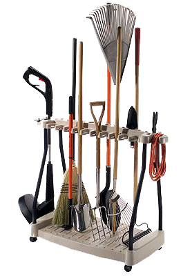 Suncast - Tool Rack with Wheels