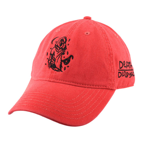 Death Over Disloyalty Strapback - Red
