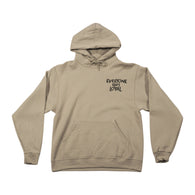 Death To Rats Sweatshirt - Tan