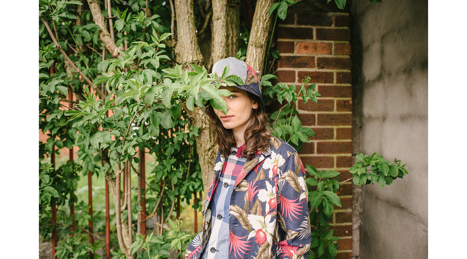 look engineered garments x queene & belle