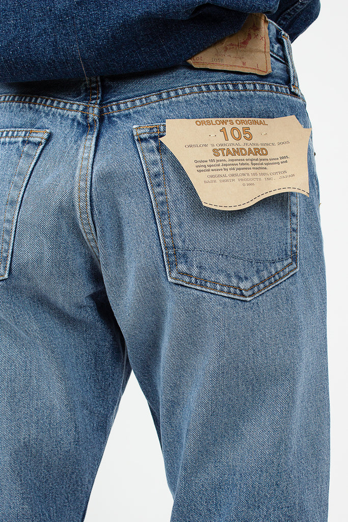 2 Year Wash 105 Standard 5 Pocket Jeans