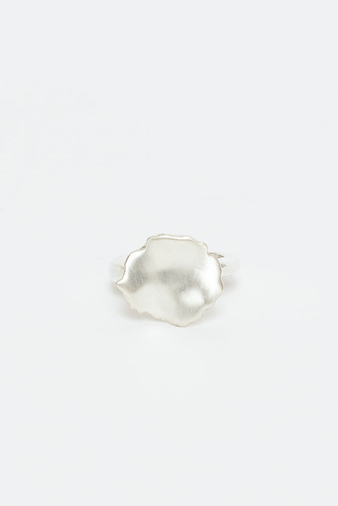 Theoxane Flower Silver Ring