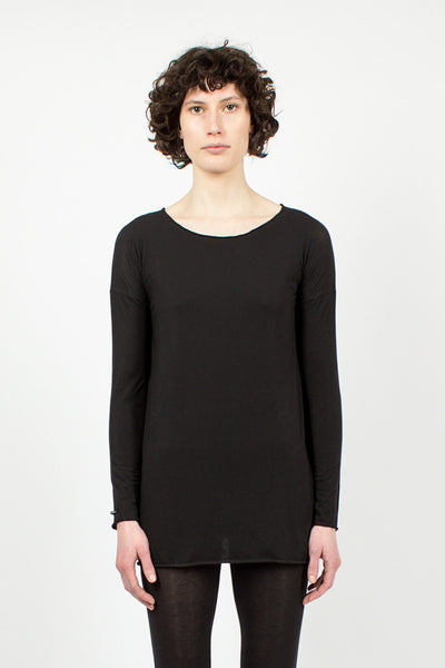 1832 Black Long T-Shirt