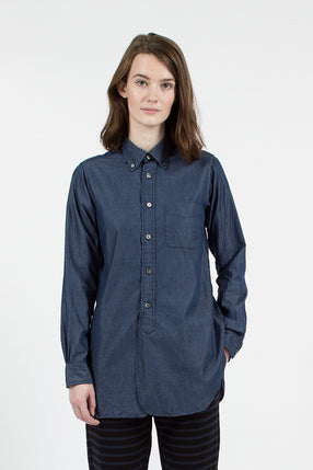Navy Lt. Weight Denim 19th Century BD Shirt