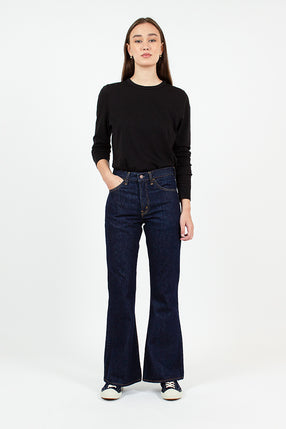 208 One Wash Flare Cut Jean