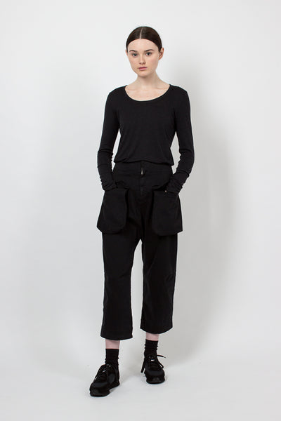 U2339 Black Pocket Trouser