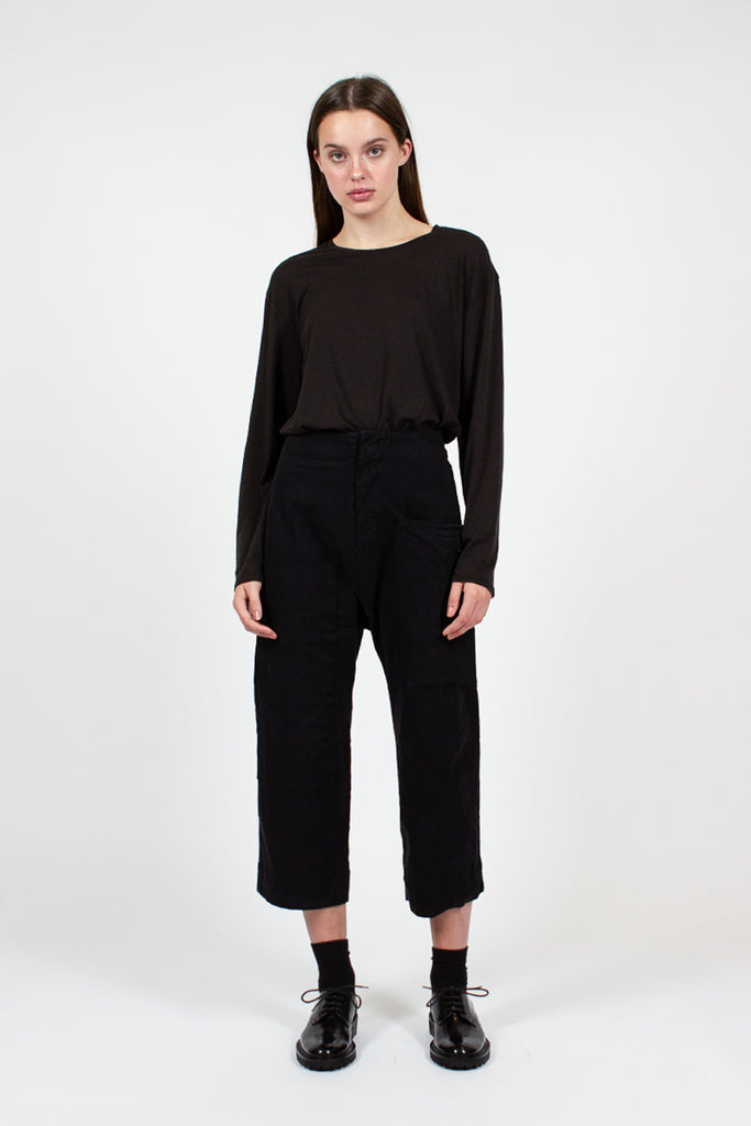 23_190 Black Pocket Trousers