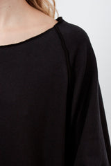 40_81 T-shirt Pipistrello JP Black