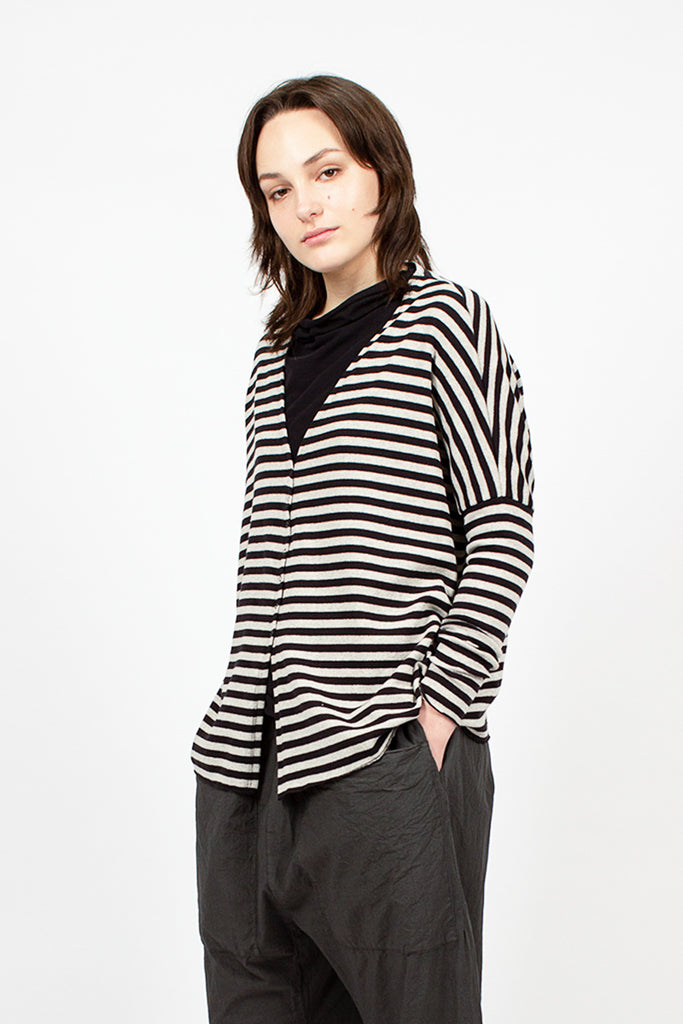 41_116 Striped Riga Cardigan