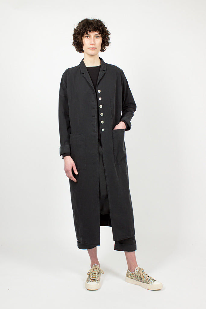 4587 Cotton Long Coat