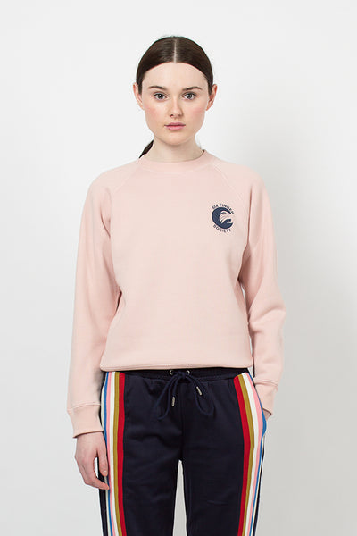 Pink Six Finger Society Sweatshirt