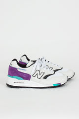 M997WEA White/Purple Sneaker
