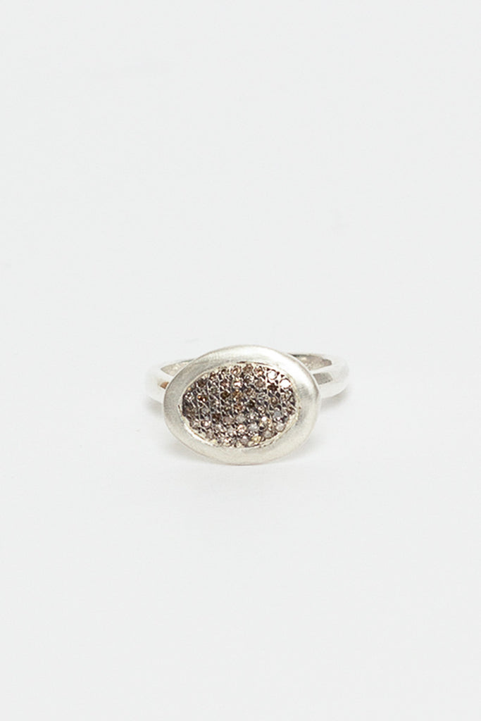 Touria Pave Cognac Diamond Ring