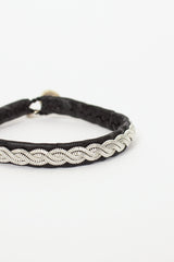 Black Hide AY7 Bracelet