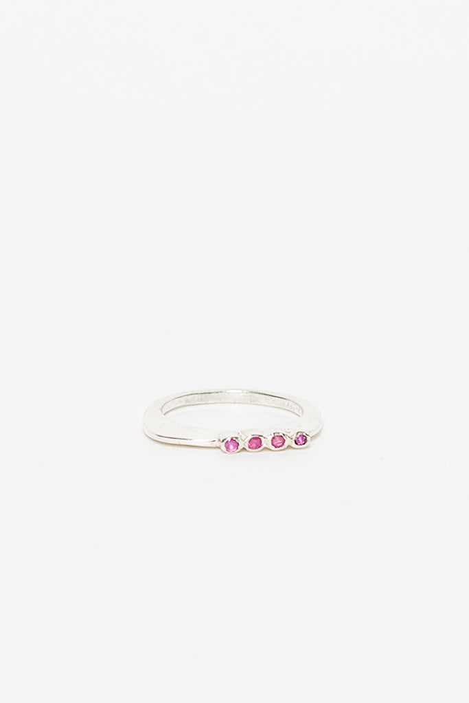 Adina 4 Ruby Ring
