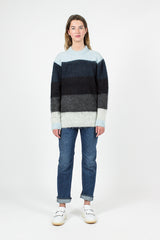 Albah Mohair Blue/Multi Sweater