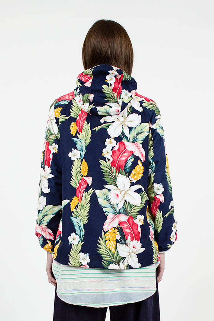 Atlantic Parka Hawaiian Floral