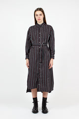 BD Sriped Shirt Dress