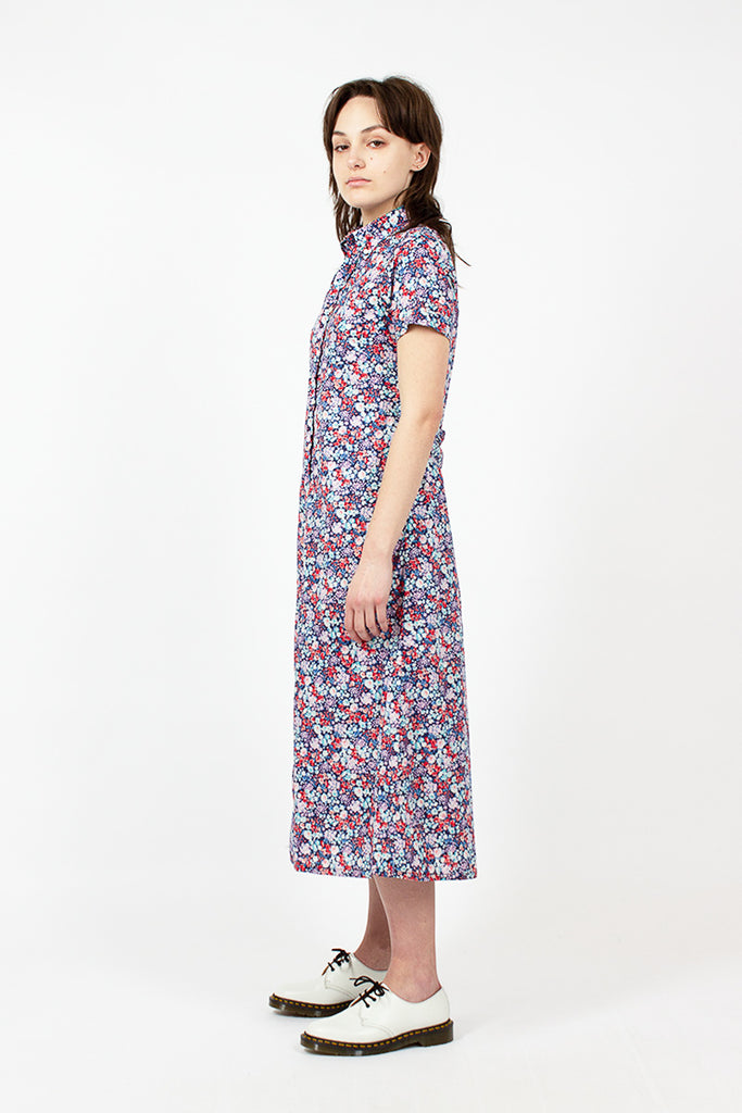 Floral Lawn BD Shirt Dress